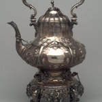 Teakettle on Stand with Burner