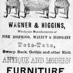 Business Card, Wagner &amp; Higgins
