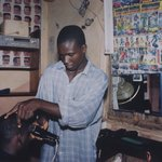 Haircut, Local Market (Ebonyi State, Nigeria, July 2000)