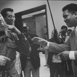 Havana, Cuba - 1996, Fidel Castro, Tiofilo Stevenson and Muhammad Ali