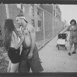 Anthony Hitting On Giselle, Vivien Waiting, Lorimer Street, Williamsburg, Brooklyn, The Southside