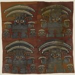 Tapestry Fragment with Four Large Human Figures