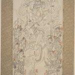 Buddhistic Mythological Scene