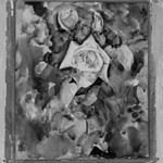 Roses with Foliate Background