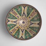 Bowl with Twelve-Pointed Central Star