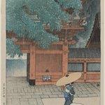 May Rain at Sanno Temple