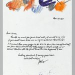 Letter with Drawing
