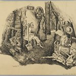 Collier Brothers:  Incident of the Early Spring (recto) and [Sketch] (verso)