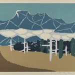 [Untitled] (Snow Mountain Landscape)