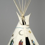 21st Century Traditional: Beaded Tipi