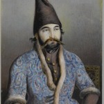 Portrait of a Nobleman or Royal Figure (Possibly Muhammad Shah Qajar)