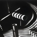 Light Experiment: Wooden Dowels, Chicago 1939