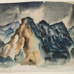 Rocky Mountain Landscape II