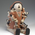Storyteller Pottery Sculpture