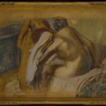 Woman Drying Her Hair (Femme sessuyant les cheveux)