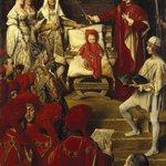 Philip I, the Handsome, Conferring the Order of the Golden Fleece on his Son Charles of Luxembourg  (Philippe Ier le Beau, conf&eacute;rant &agrave; son fils Charles de Luxembourg le titre de Chevalier de lOrdre de la Toison dOr)