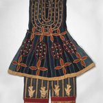 Robe (Kansawu) and Trousers, from 3 Piece Royal or Noble Costume