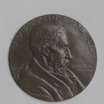 Portrait Medal of Joseph Pennell