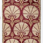 Textile Panel with Carnation Pattern