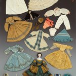 Dress, Sanitary Fair Doll