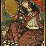 Lady with Tambourine