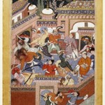 Led by Songhur Balkhi and Lulu the Spy, the Ayyars Slit the Throats of Prison Guards and Free Said Farrukh-Nizhad