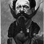 Caricature of King Victor Emmanuel II