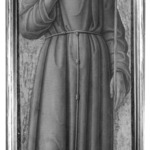 Saint Francis of Assisi, part of an altarpiece