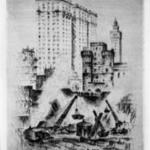 The Birth of a Skyscraper 1920s