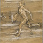 [Untitled] (Nude Boy Running)