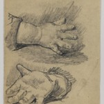 [Untitled] (Study of Babys Hands)