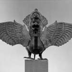 Lamp in the Form of the Mythical Garuda Bird