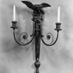 Pair of Eagle Wall Sconces