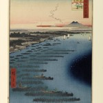 Minami-Shinagawa and Samezu Coast, No. 109 from One Hundred Famous Views of Edo