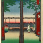 Dawn at Kanda Myojin Shrine, No. 10 in One Hundred Famous Views of Edo