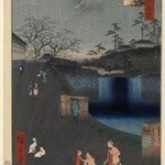 Aoi Slope, Outside Toranomon Gate, No. 113 from One Hundred Famous Views of Edo
