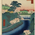 Dam on the Otonashi River at Oji, No. 19 in One Hundred Famous Views of Edo