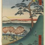 Original Fuji, Meguro, No. 25 in One Hundred Famous Views of Edo