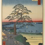 Armor-Hanging Pine, Hakkeisaka, No. 26 in One Hundred Famous Views of Edo
