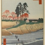 Gotenyama, Shinagawa, No. 28 in One Hundred Famous Views of Edo