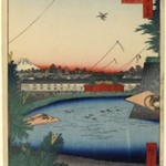 Hibiya and Soto-Sakurada From Yamashita-Cho, No. 3 in One Hundred Famous Views of Edo