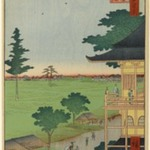 Spiral Hall, Five Hundred Rakan Temple, No. 66 from One Hundred Famous Views of Edo