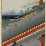 Hall of Thirty-Three Bays, Fukagawa, No. 69 from One Hundred Famous Views of Edo