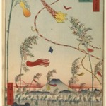 The City Flourishing, Tanabata Festival, No. 73 from One Hundred Famous Views of Edo