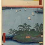 Shinagawa Susaki, No. 83 from One Hundred Famous Views of Edo