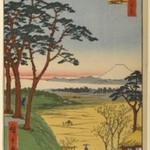 Grandpas Teahouse, Meguro, No. 84 from One Hundred Famous Views of Edo