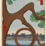 Moon Pine, Ueno, No. 89 from One Hundred Famous Views of Edo