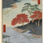 Inside Akiba Shrine, Ukeji, No. 91 from One Hundred Famous Views of Edo