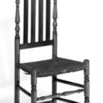 Chair - Turned with Bannister Back and Rush Seat