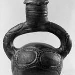 Stirrup-spout Jar
